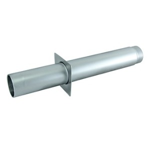 "Wall conduit 1,5"" 350 mm for tiled pools, AISI-304"
