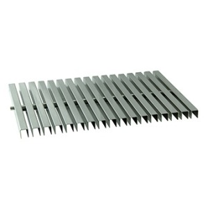 Flexible overflow grate 195 mm AISI 316L