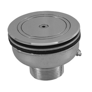 Floor inlet for liner, horizontal flow AISI-304