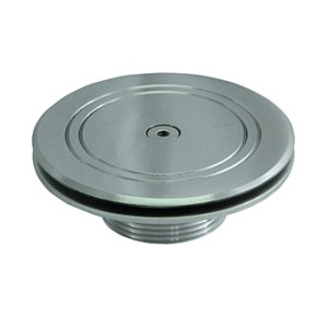 Floor inlet for tiled pools, horizontal flow, AISI-304