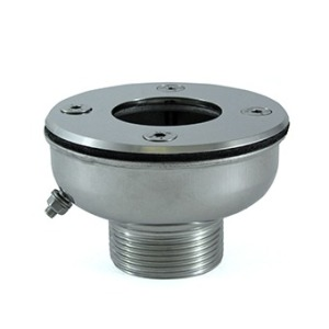 Vacuum cleaner adapter for liner pools AISI 316L