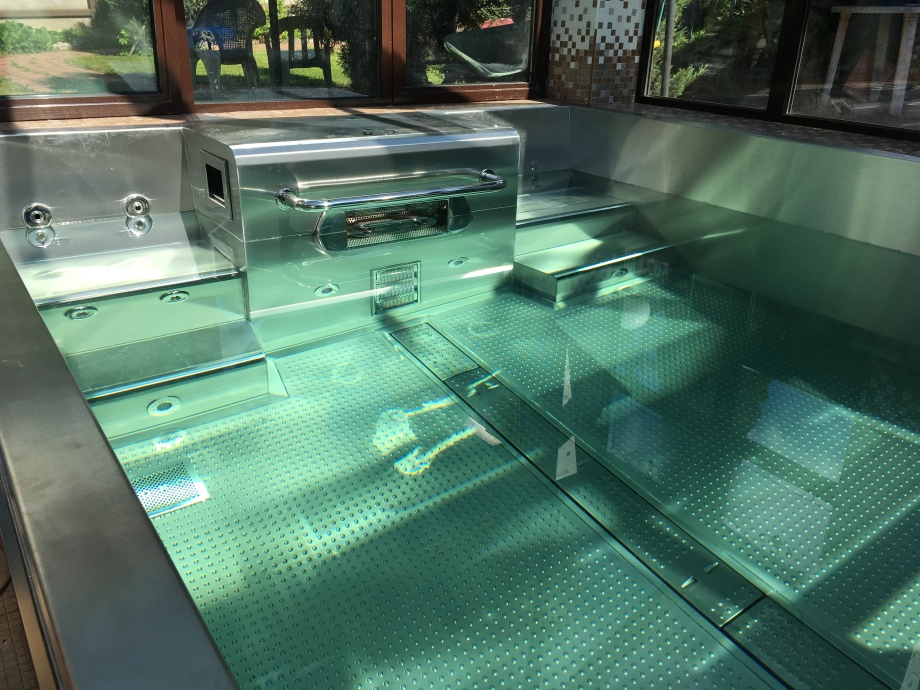 Indoor skimmer pool  4,2х2,8